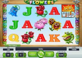 Flowers Pokie