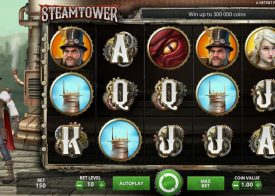 Steam Tower Pokie